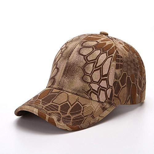 PPSTYLE Gorra de béisbol táctica de Camuflaje Sombrero para el Sol Sombrero de Fuerzas Especiales Sombrero de Camuflaje Visera Vieja Sombrero al Aire Libre Patrón de crepé
