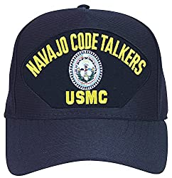 Image: Armed Forces Depot USMC Navajo Code Talkers Marine Corps Baseball Cap | Made In USA
