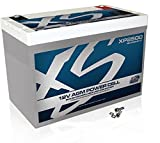 XS Power XP2500 XP Series 12V 2500 Amp AGM Supplemental Battery with M6 Terminal Bolt