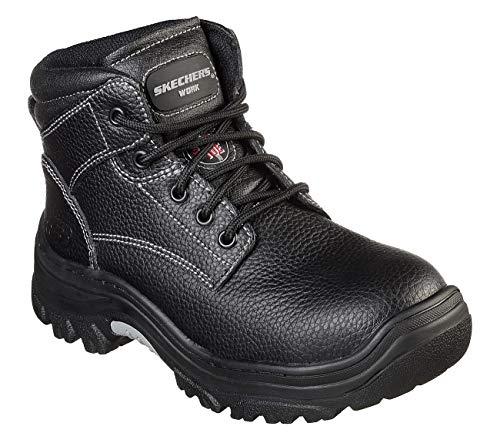 Skechers Women's Work Boots Burgin Krabok, Black, Size 8 B US