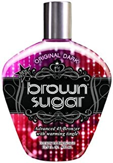 2011 Tan Incorporated - Brown Sugar ORIGINAL DARK Advanced 45 Bronzer with Warming Tingle Tanning Lotion 13.5...