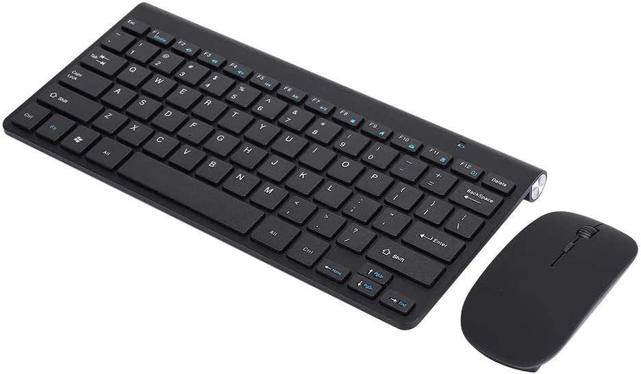 eboxer-1 KB639 Mouse Keyboard Set Wireless Keyboard Mouse 2.4G USB Interface Computer Accessories for Home(Black)