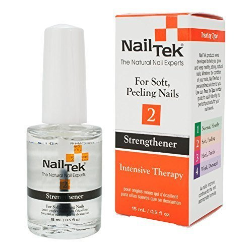 NailTek Intensive Therapy 2 Strengthener 0.5 Ounce by Nail Tek