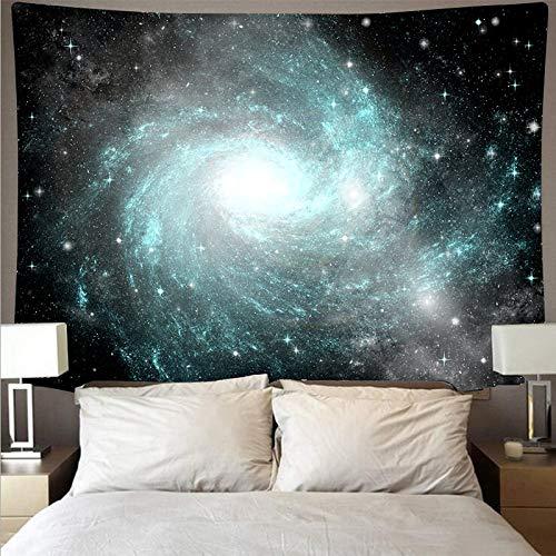 KHKJ Espectacular Espacio Galaxia Nebulosa paño de Pared Gran Arte Tapiz psicodélico Colgante de Pared Toalla de Playa Manta de Fibra A1 200x150cm