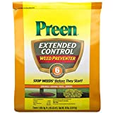 4. Preen 2464221 Extended Control Weed Preventer, 10 lb. -Covers 1,630 sq. ft