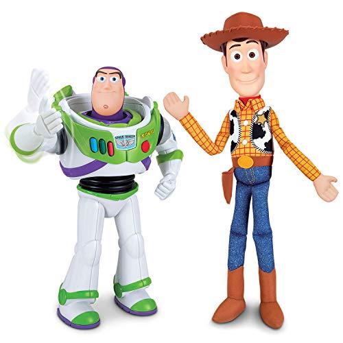 Toy Story - Pack de Amigos Buzz 30 cm y Woody 40 cm (Bizak 61234129)