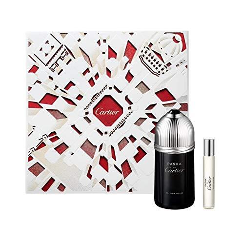 Pasha de Cartier Edition Noire by Cartier Eau de Toilette Spray Gift Set