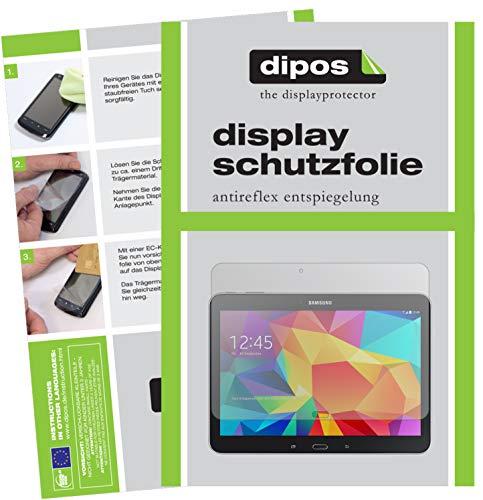 dipos I 2X Schutzfolie matt kompatibel mit Samsung Galaxy Tab 4 10.1 T530 / T535 Folie Bildschirmschutzfolie