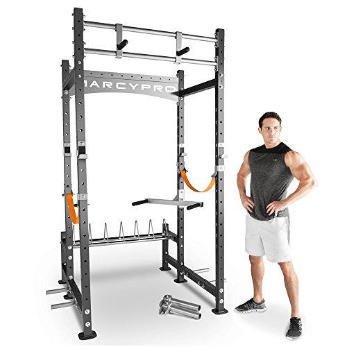 MARCY Pro Crossfit Mwm-8070Power Cage–Gris, Taille Unique