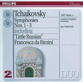 Tchaikovsky: Symphonies Nos.1-3