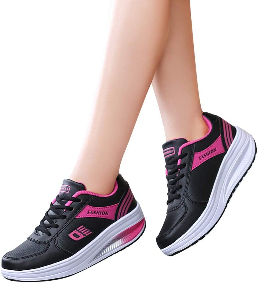 2021 Sneakers for Women Size 8 Running Athletic Shock Absorbers Slip On Autumn Running Shoes Breathable Mesh Athletics