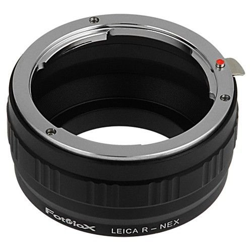 Fotodiox Lens Mount Adapter, Leica R Lens to Sony E-Mount Mirrorless Camera Adapter - for Sony Alpha E-Mount Camera Bodies (APS-C & Full Frame Such as NEX-5, NEX-7, α7, α7II)