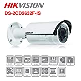 HIKVISION 3MP Verifocal IR Bullet Network IP Camera 2.8-12mm DS-2CD2632F-IS Camera (Certified Refurbished)