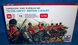 ESCI Napoleonic Waterloo 1815 Scots Greys British Cavalry 1/72 Scale Offered By Classic Toy Slodiers, Inc by Classic Toy Soldiers, Inc