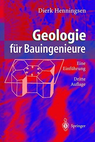 Geologie für Bauingenieure: Eine Einführung (German Edition)