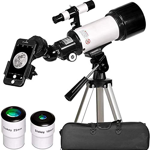 GDS Telescope for Astronomy - Portable and Powerful 16X-120X Travel Scope - Easy to Mount and Use - Ideal for Kids and Beginner Adults -Phone Adapter