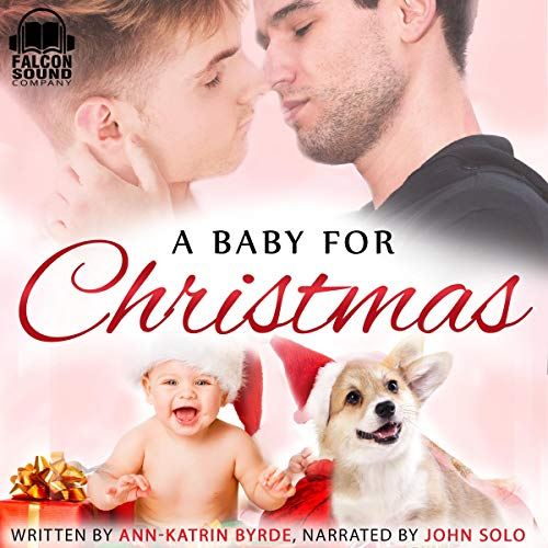A Baby for Christmas audiobook cover art