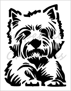 WESTIE Dog Breed Face West Highland 8.5