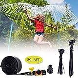 NDDDSD 8/12/15M Système de brumisation, Kits d'irrigation Trampoline Arroseurs Jouet pour Enfants pour Gazebo Auvents Balcons Trampoline Jardin (Size : 39.3FT)