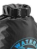 Lewis N. Clark Locking Sling Bag + Waterproof Messenger Bag for Women & Men with Anti-Theft...