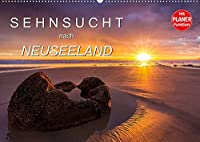 Sehnsucht nach Neuseeland (Wandkalender 2022 DIN A2 quer): Dieser Planungskalender nimmt Sie mit auf die Sehnsuchtsreise und zeigt grandiosen Landschaftsbildern. (Geburtstagskalender, 14 Seiten )