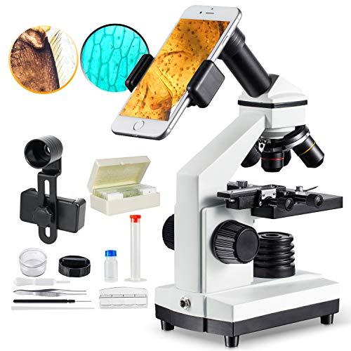 MAXLAPTER 1000x Microscopio para Nios...