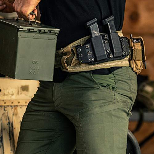 5.11 VTAC Combat Battle Belt with MOLLE for Range Airsoft Combat, Style 58642, Black, L/XL