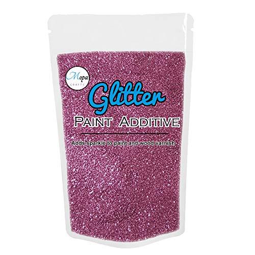 Glitter für Dispersionsfarbe, Additiv, Mörtel, 100 g Flieder