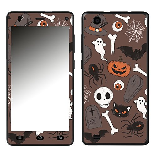 DISAGU SF-106689_1210 Design Folie für Medion Life E5001 (MD99206) - Motiv Halloweenmuster 02