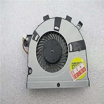 Ventilador de CPU para Toshiba Satellite E45T E45t-A4200 AB07505HX060300 DC28000DTA0 DFS200005060T FFCF E45 M40-A M40T-AT02S M50-A U40T