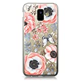 CASEiLIKE Coque Samsung A6 2018, Bouquets de Fleurs bohémiennes 2268, TPU Silicone Soft Housse Etui Coque pour Samsung Galaxy A6 2018