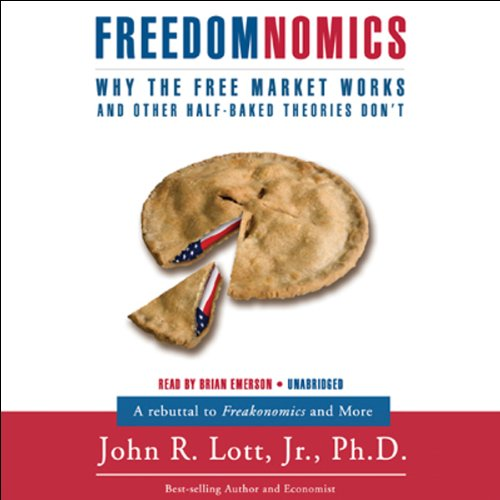 Freedomnomics audiobook cover art