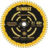 DEWALT 7-1/4' Circular Saw Blade, Precision Finishing, 60-Tooth (DW3196)