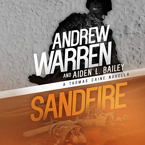 Sandfire audiobook cover art