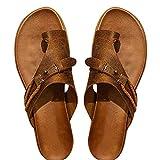 Aoten Carina Sandals - Chanclas para mujer con punta abierta y suela de EVA para verano