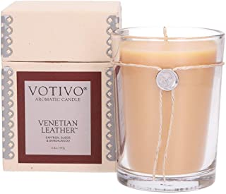Votivo Aromatic Candle - Venetian Leather