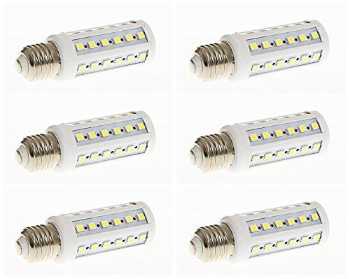 Pack 6-9w 42x 5050 E27 Ajuste Base Lámpara LED Medio