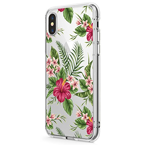 Zater iPhone X Hülle, Liquid Crystal Hülle iPhone 10 Silikon hülle TPU Case Ultra Slim Cover Weich TPU Bumper Schutzhülle für Apple iPhone X Case Cover (4, iPhone X 5.8