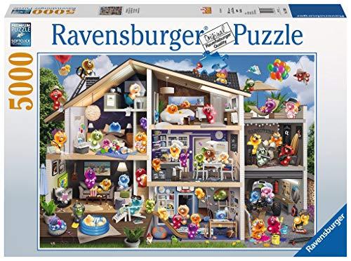 Ravensburger Puzzle 17434 - Gelini Puppenhaus - 5000 Teile