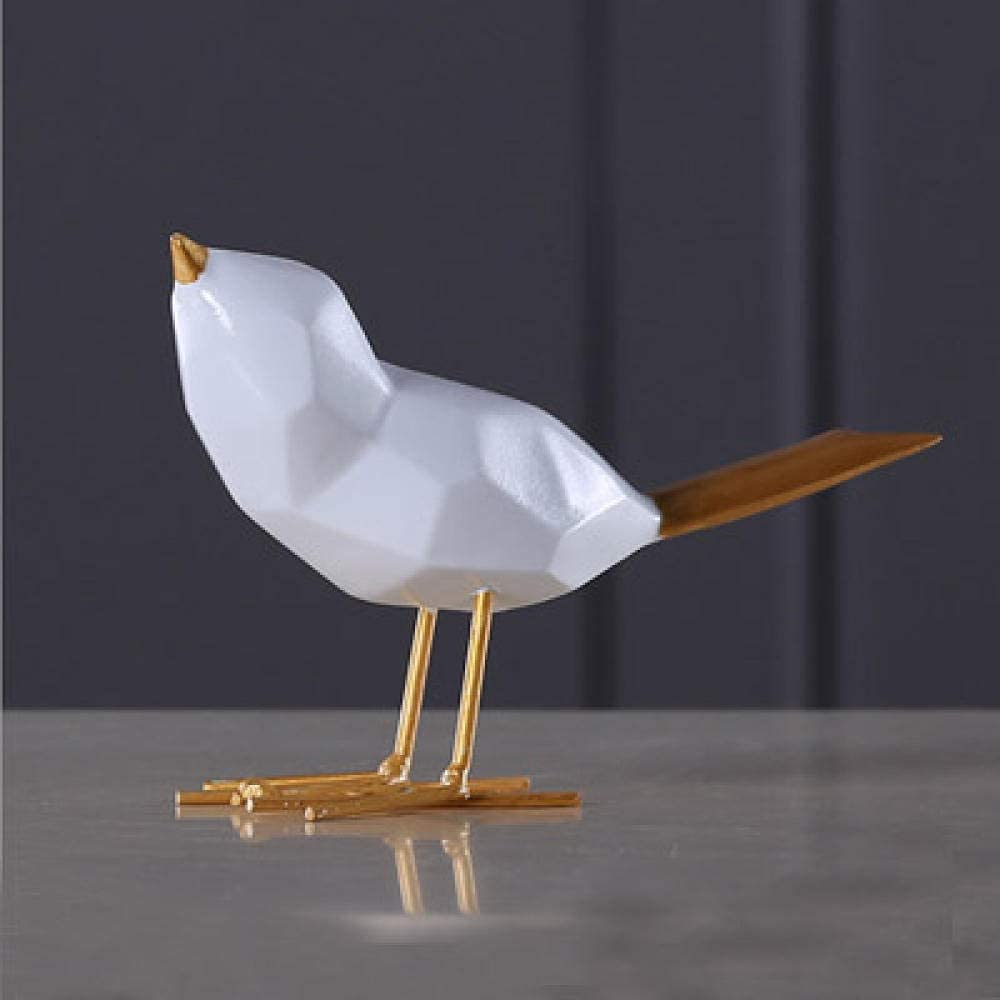 Ornament Crafts Lovely Louisville-Jefferson County Mall Resin Long Beach Mall Bird Colle Decorative Statue Animal