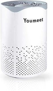 Purificador de aire Youmeet con luz nocturna, filtro de aire