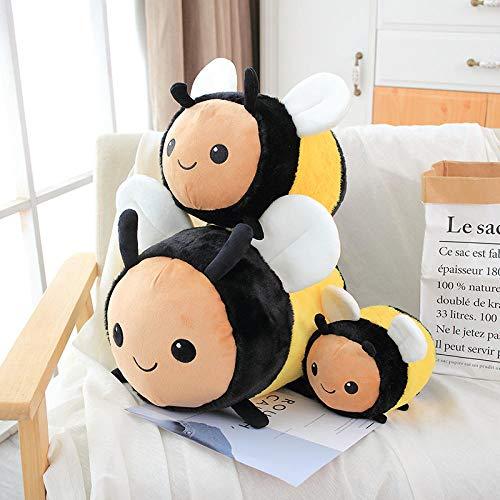 CPFYZH Fuzzy Bumblebee Ladybug Peluche Insecto Peluche Juguete Abeja Mariquita Muñeca Suave...