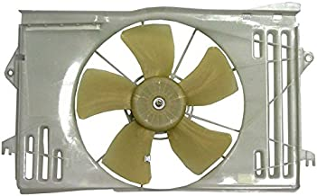 New Radiator Fan Assembly For 2003-2008 Toyota Corolla 1.8 S LE CE TRD, Replaces GM 88971516 88973493 88973494 88973496 1ZZ-FE 2ZZ-GE