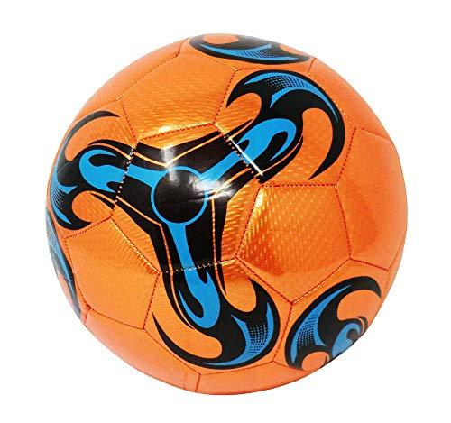 Pallone da Calcio da Allenamento O Partita Misura 5 (Colore: Arancione)