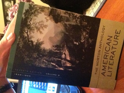 The Norton Anthology American Literature Seventh Edition...