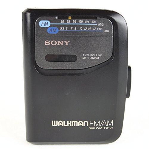 Sony Corp. Sony Anti-Rolling Mechanism Sony Walkman FM/AM AVLS WM-FX101 Radio Cassette Tape Player Model# WM-FX101