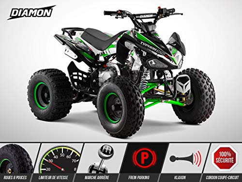Quad Enfant 125 cm3 - PANTHERA 125 - DIAMON -...