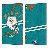 Head Case Designs sous Licence Officielle NFL Casque Look Affligé 100e Miami Dolphins Logo Art...