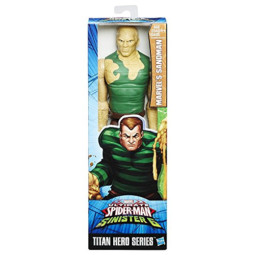 Hasbro B6388 Marvel Titan Hero Toy - Sandman 12 Inch Action Figure - Ultimate Spider-Man v Sinister 6