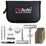 Best Tire Repair Kits - CKAuto Universal Tire Repair Kit, Heavy Duty Car Review